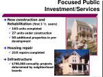 focused public investment services