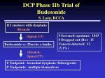 dcp phase iib trial of budesonide s lam bcca