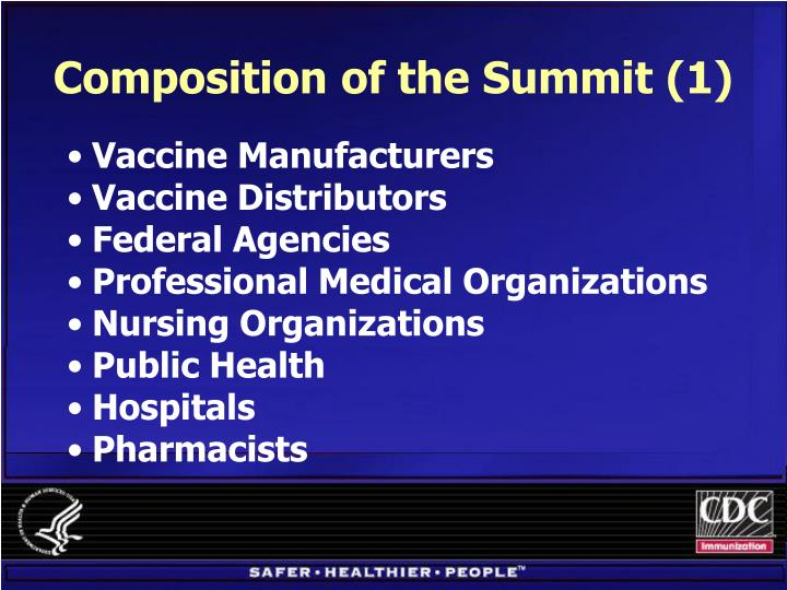 Composition of the Summit (1)