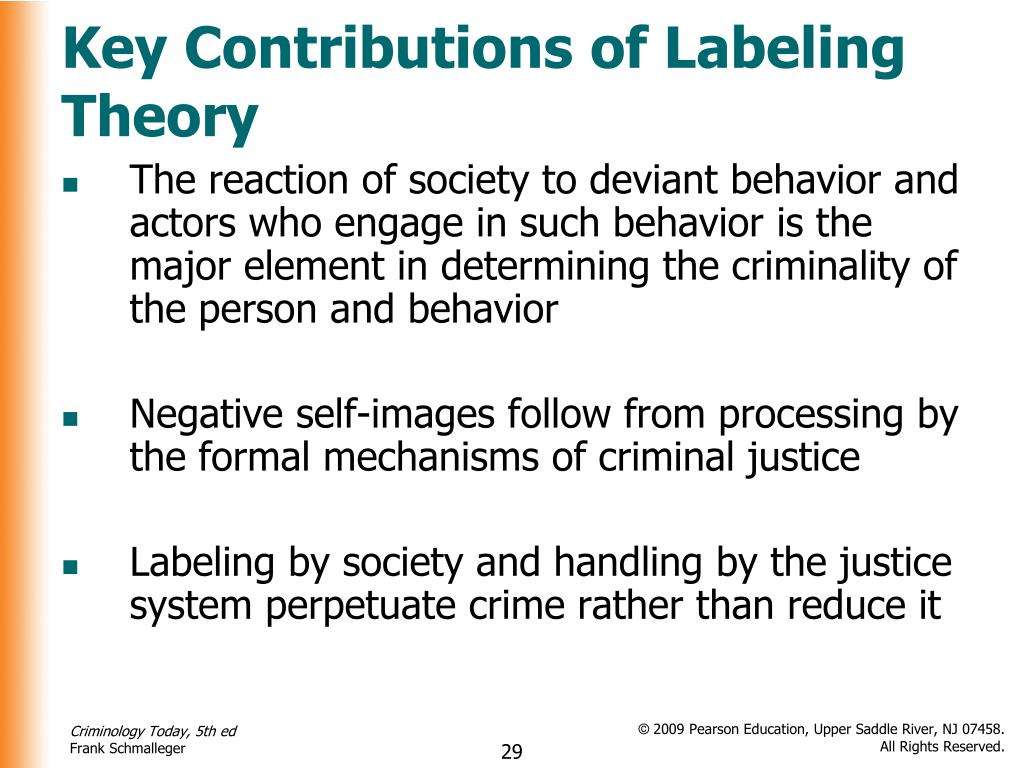 It's just a picture of Gutsy Labeling Theory Focuses on