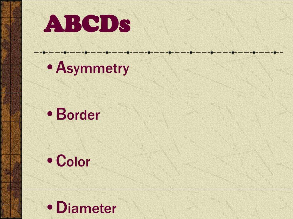 ABCDs