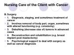 nursing care of the client with cancer29
