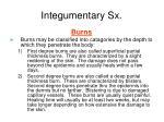 integumentary sx20