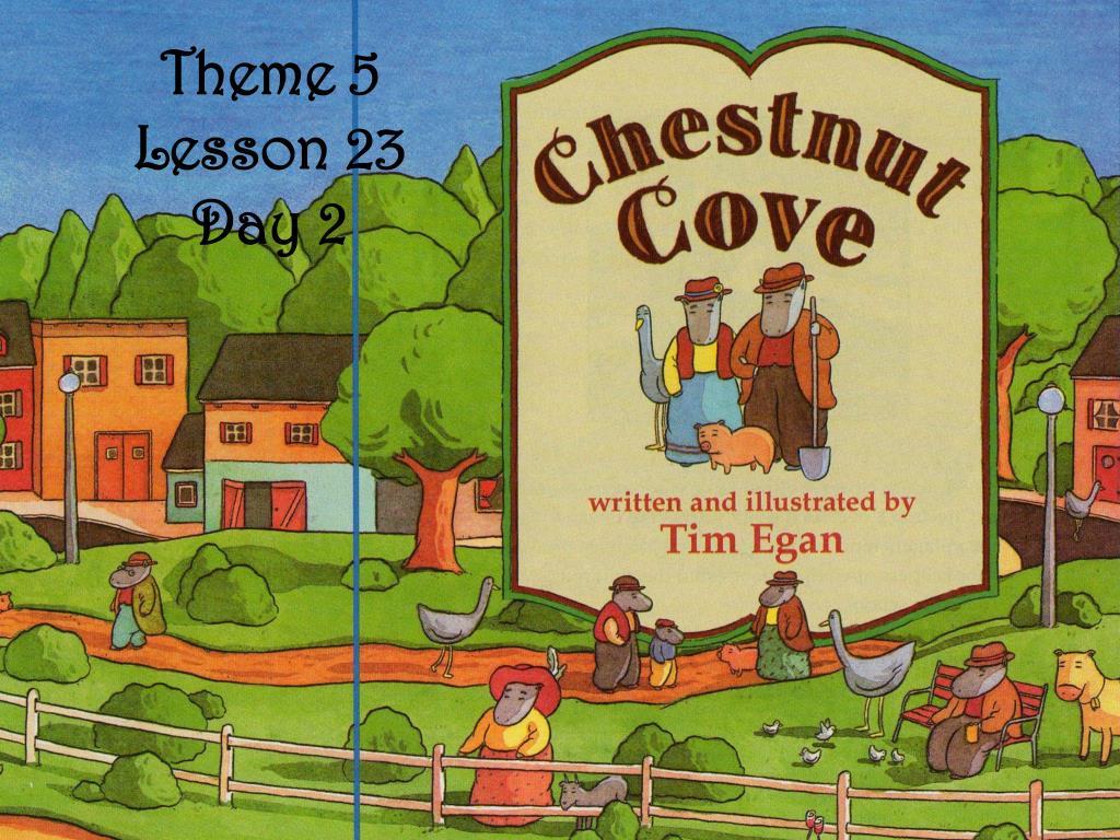 Theme 5 Lesson 23