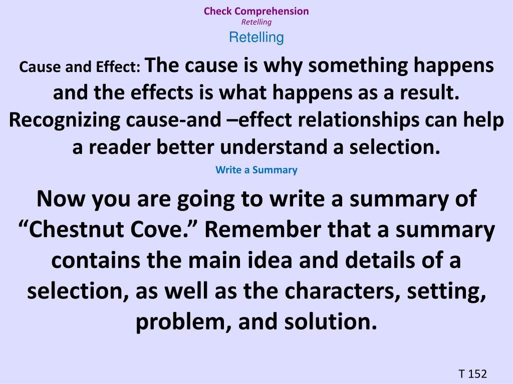 Check Comprehension