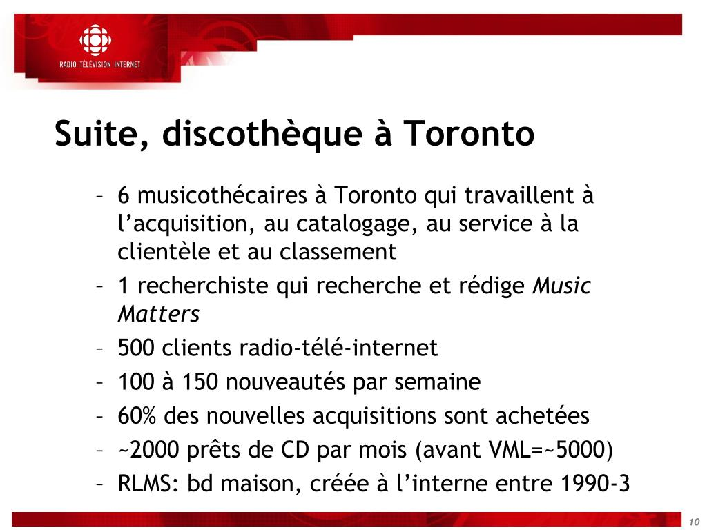 Suite, discothèque à Toronto