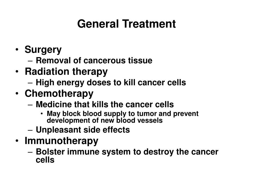 General Treatment
