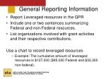general reporting information28