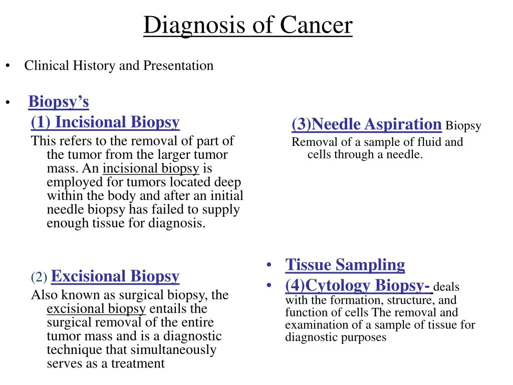 Clinical History and Presentation