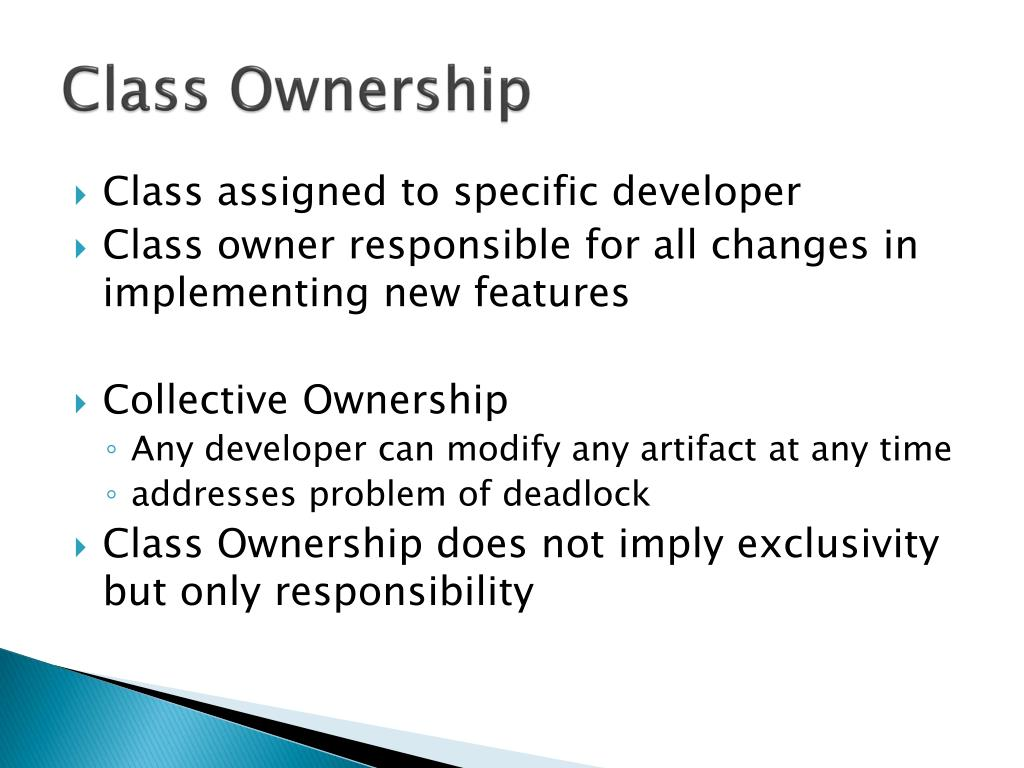 Class Ownership