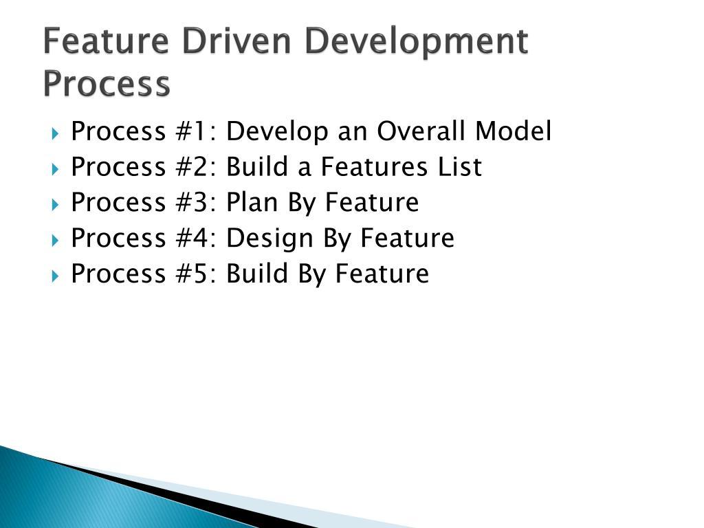 Feature Driven Development Process
