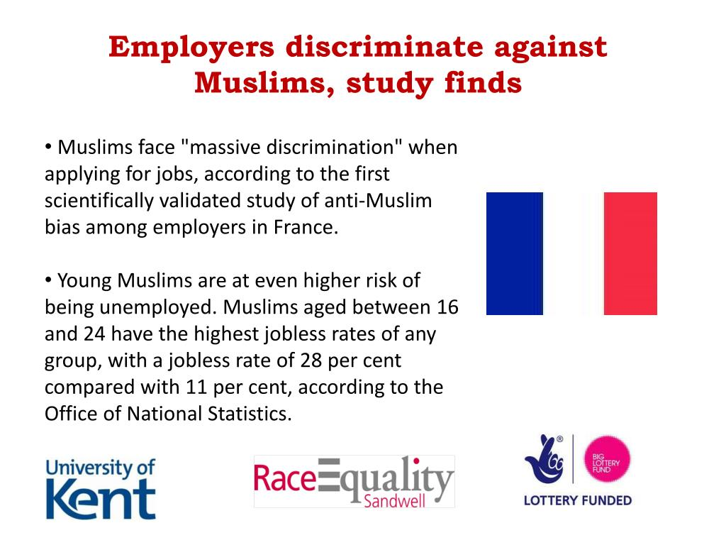 Employers discriminate against Muslims, study finds