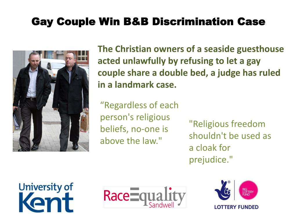 Gay Couple Win B&B Discrimination Case