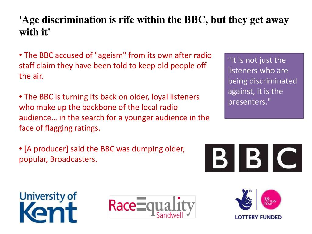'Age discrimination is rife within the BBC, but they get away with it'