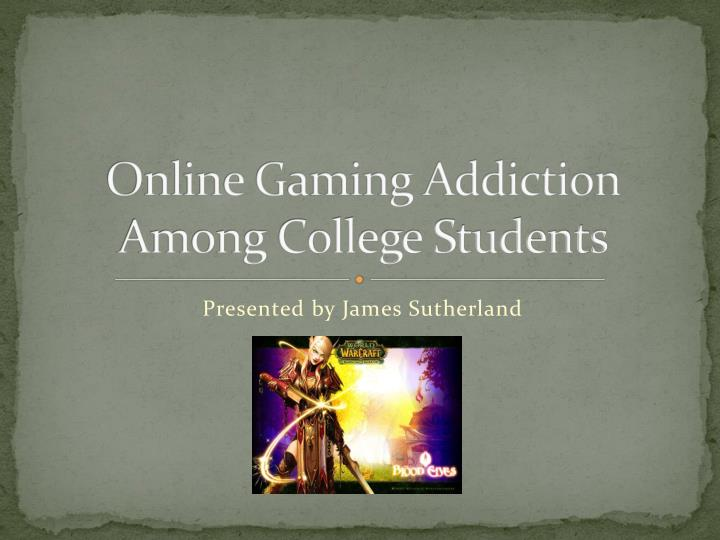 Online gaming addiction among college students