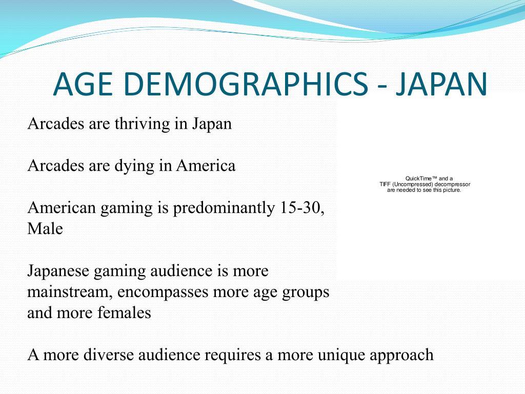 AGE DEMOGRAPHICS - JAPAN