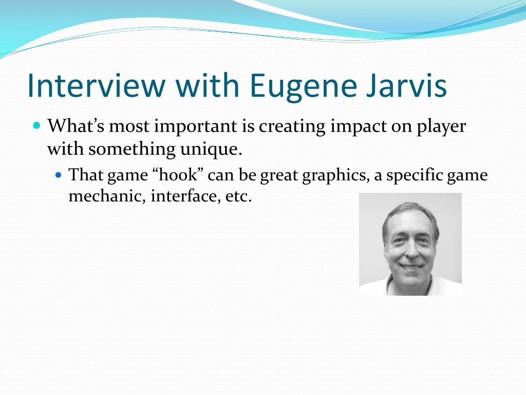 Interview with Eugene Jarvis
