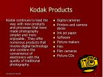 kodak products