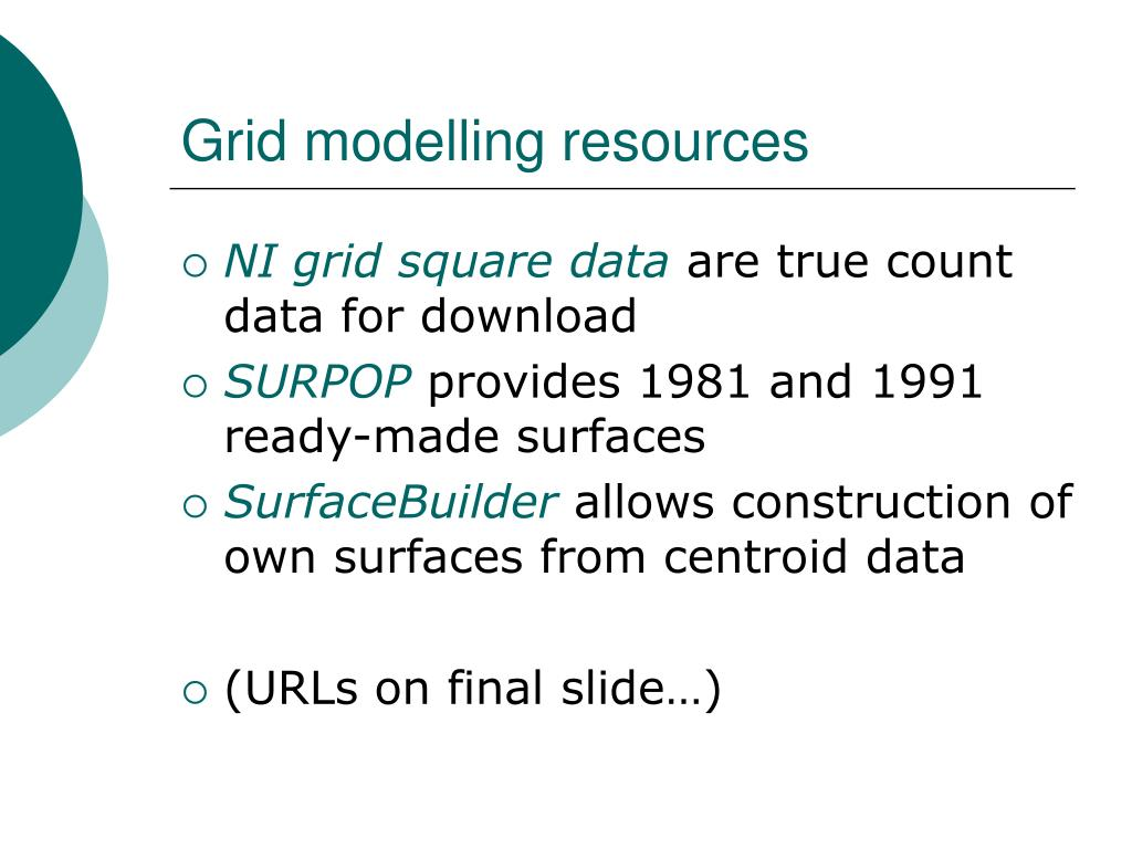 Grid modelling resources