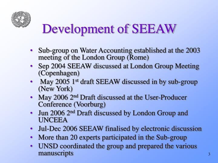Development of seeaw