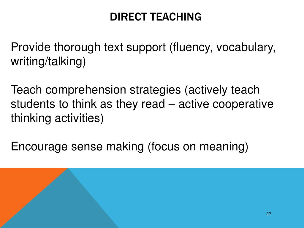 Direct Teaching