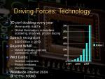 driving forces technology