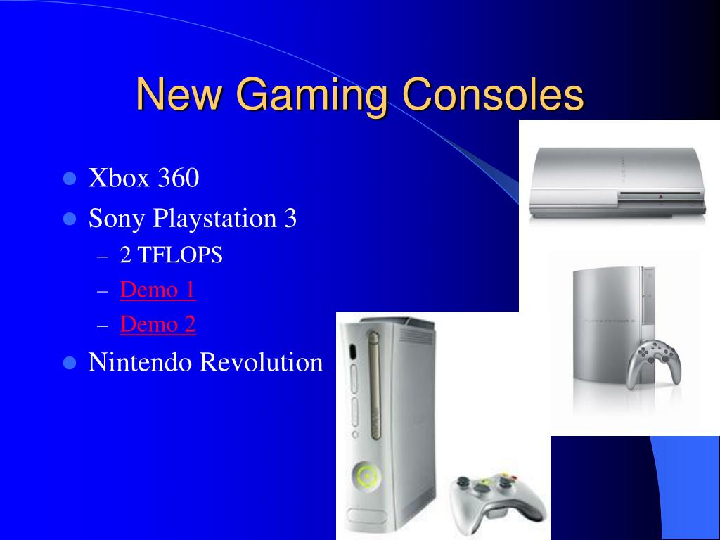 New Gaming Consoles