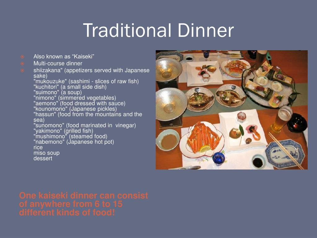 Traditional Dinner