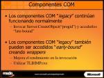 componentes com