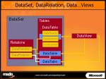dataset datarelation data views