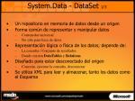 system data dataset 1 3