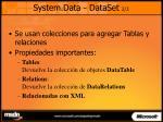 system data dataset 2 3