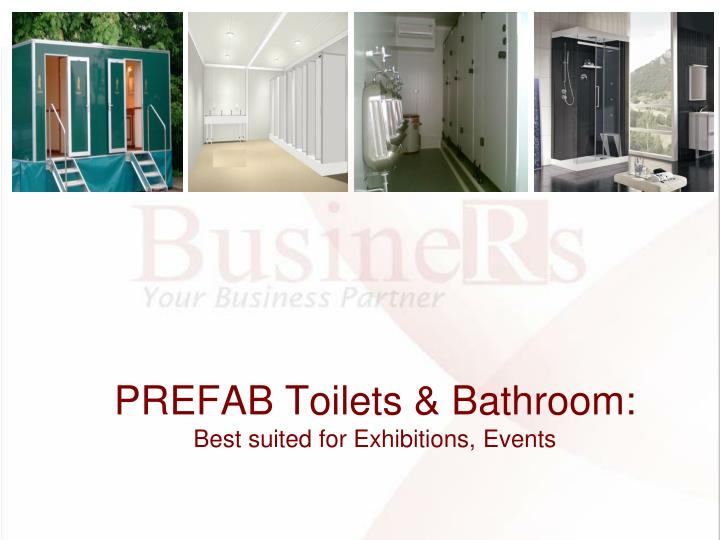 Prefab toilets bathroom best suited for exhibitions events