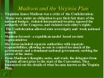 madison and the virginia plan