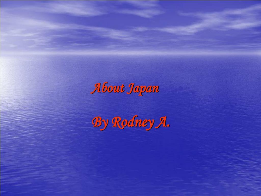 about japan l.