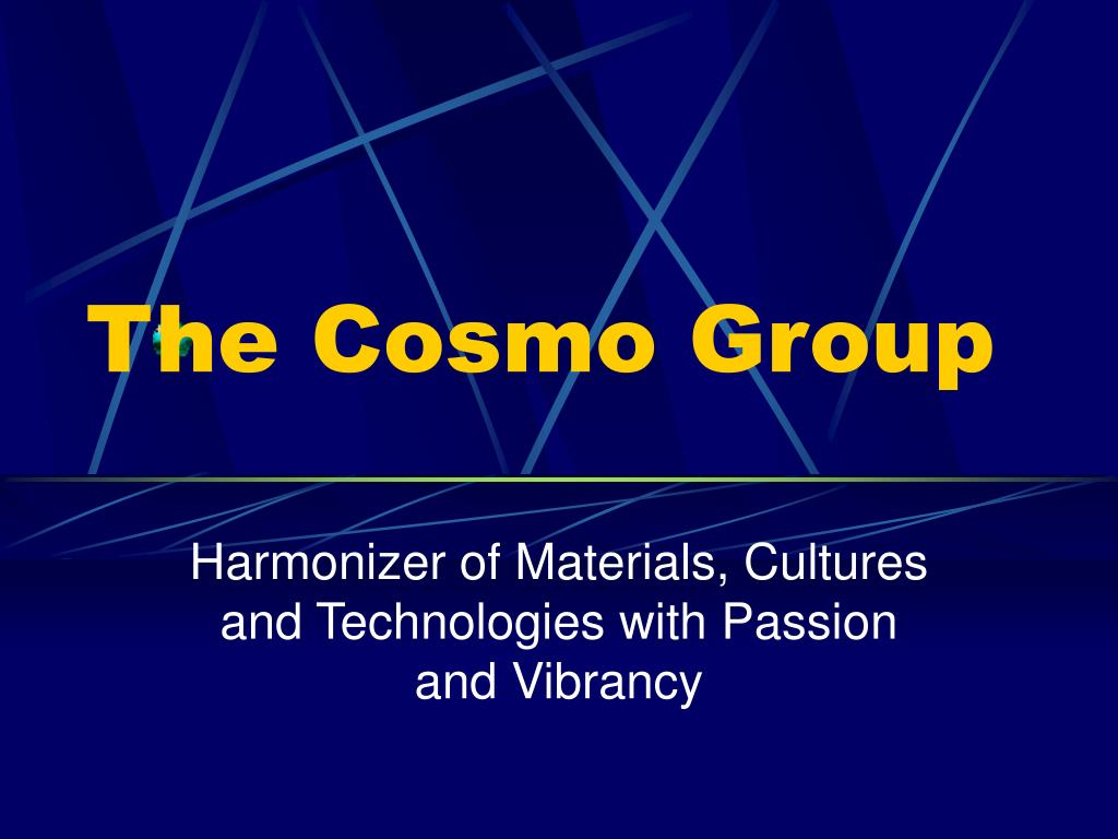 the cosmo group l.