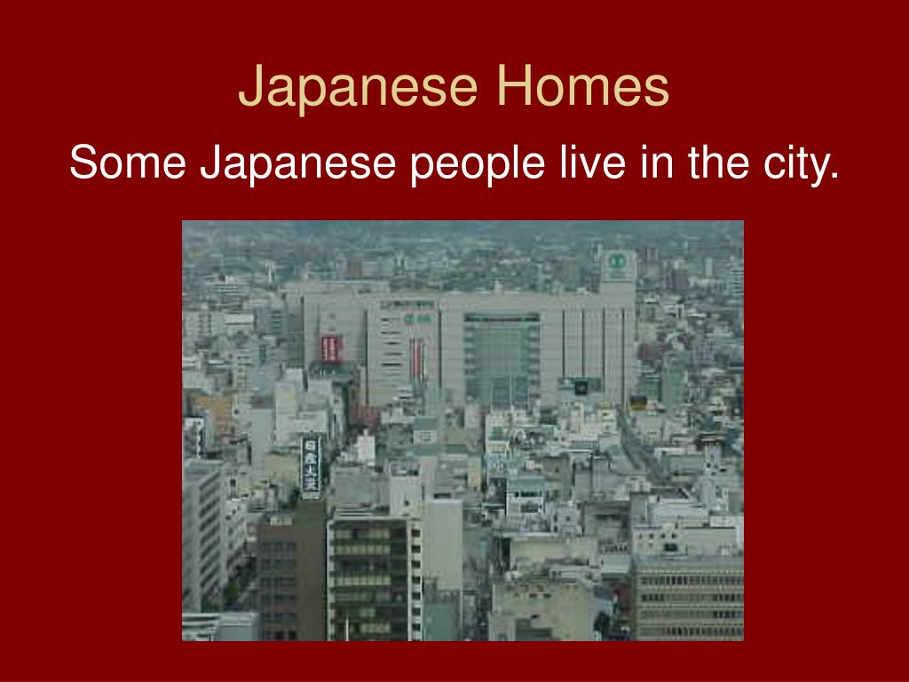 Japanese Homes
