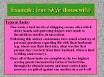 example iron shifu housewife35