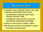 the link to sport