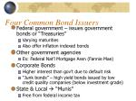 four common bond issuers