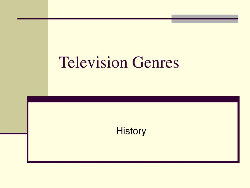 Television Genres