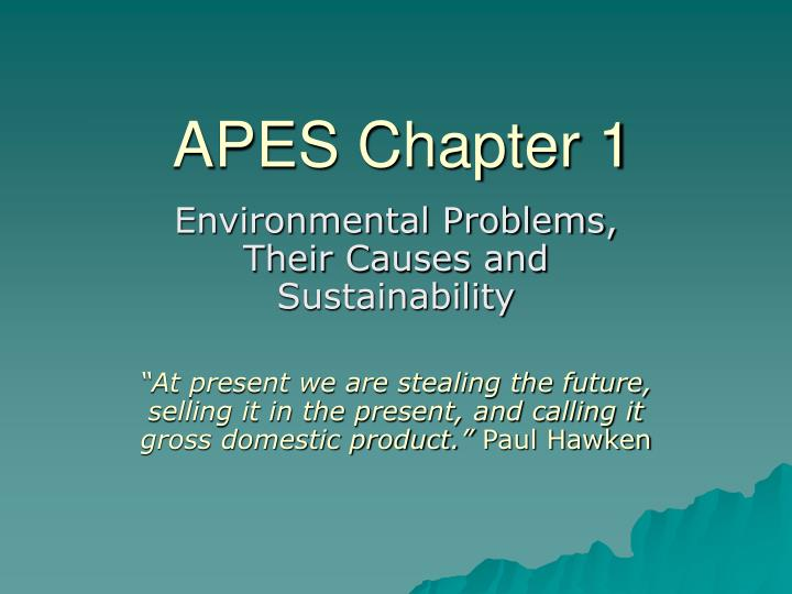 apes chapter 1 n.