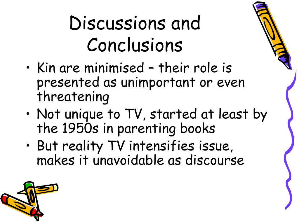 Discussions and Conclusions