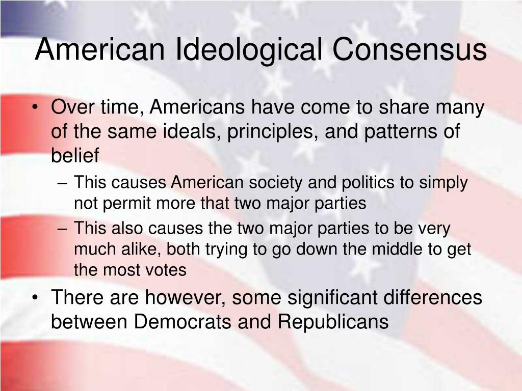 American Ideological Consensus