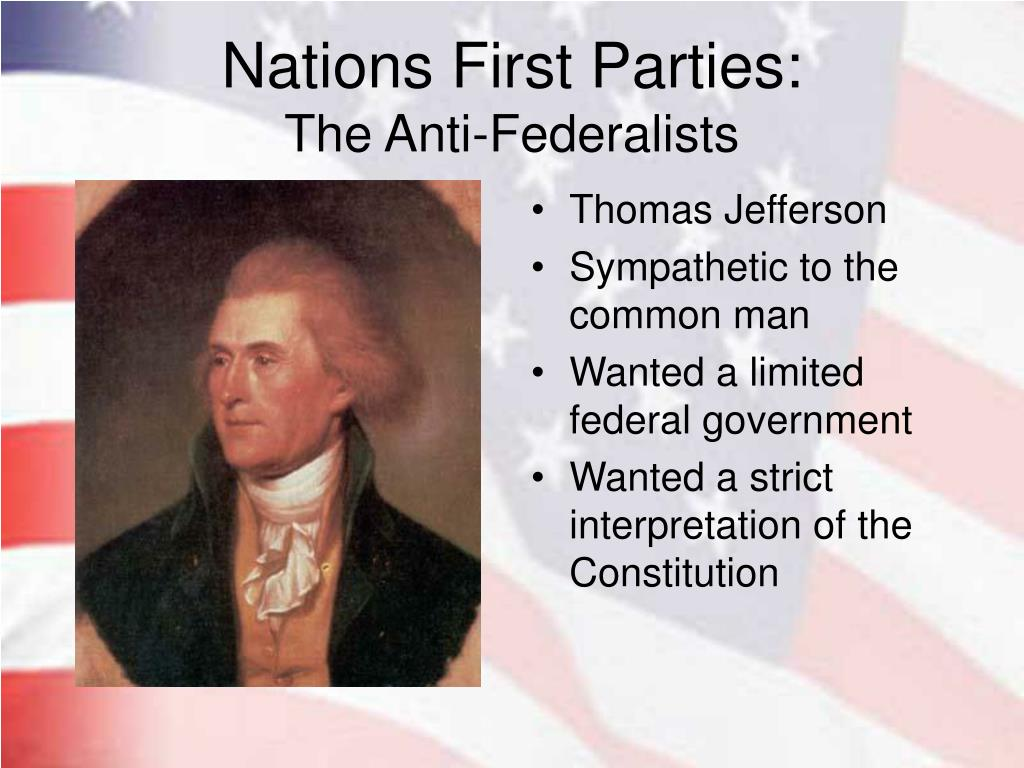Nations First Parties: