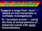 dr tom hoffer