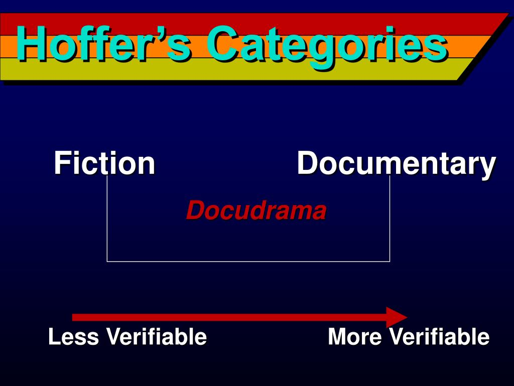 Hoffer's Categories
