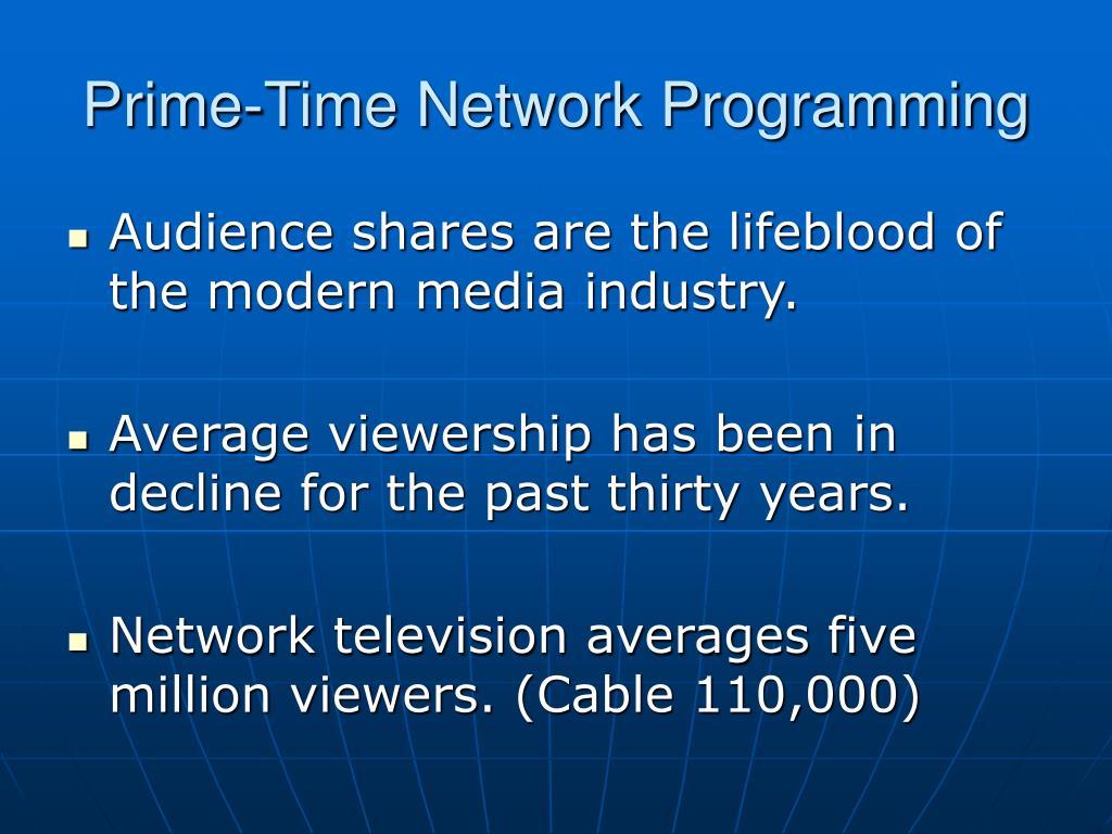 Prime-Time Network Programming