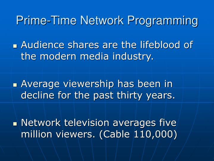 Prime time network programming3