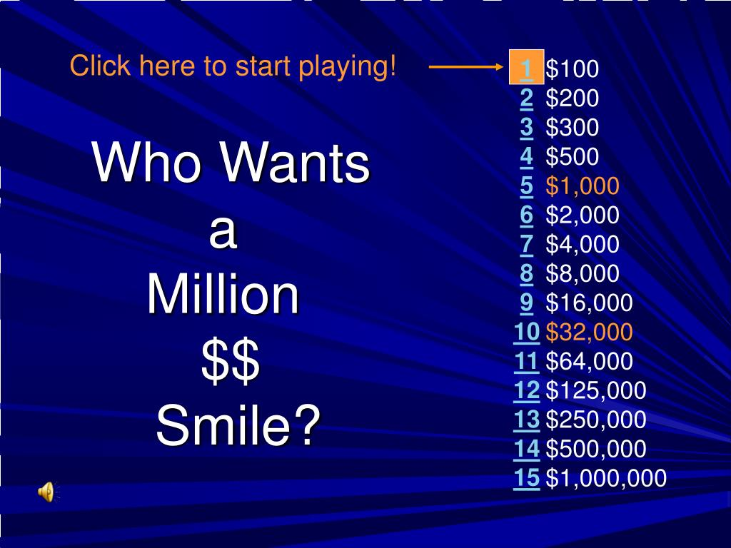 Click here to start playing!